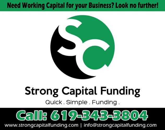 Need working capital for your business? Look no further!