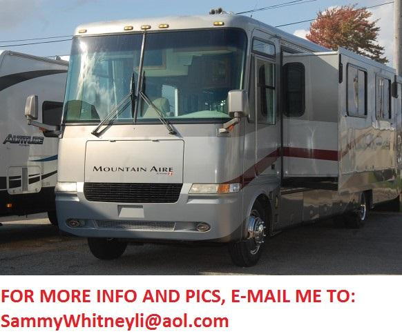 2002 Newmar Mountain Aire 3781 Double Slide Class A