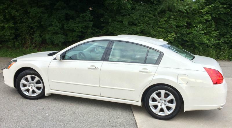 Perfect 2008 Nissan Maxima SL 3.5L White
