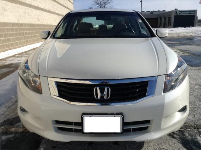 **2008 Honda Accord Coupe LX Silver**