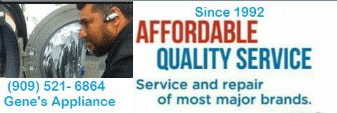 EXPERIENCED APPLIANCE REPAIR SERVICES