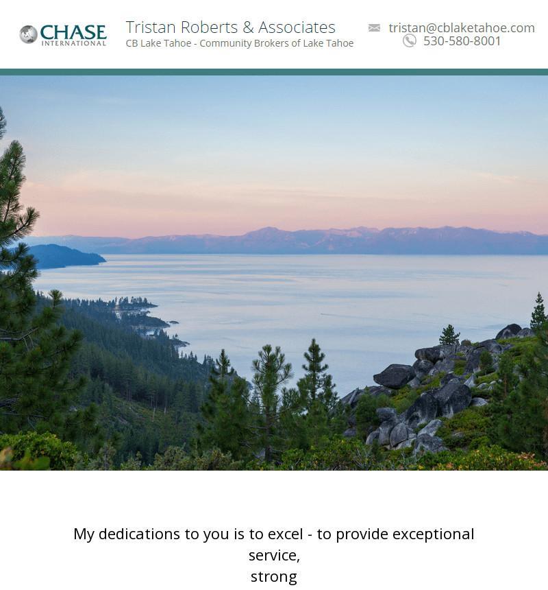 Coldwell Banker - Tristan Roberts & Associates - North Lake Tahoe Ca Real Estate Broker