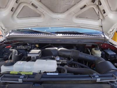FORD F450 V10 TRUCK WIH TRASH BIN HANDLER