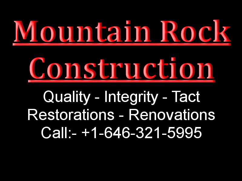 Mountain Rock Construction