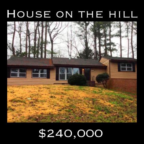 Home on the Hill 1980  Glenroy Pl Smyrna, GA 30080
