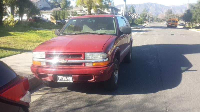 2002 Chevy Blazer great running SUV need a good tune up only