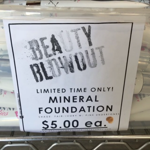 Seacliff Beauty Cosmetics Warehouse BLOWOUT SALE! Up to 75% OFF!