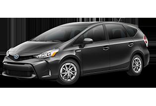 Toyota Prius v Prius v Four 2017