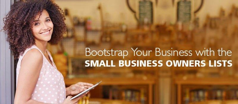 Small Business Owners Lists – B2B marketing partners