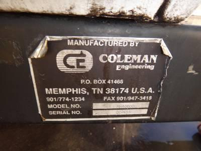 COLEMAN MH-40000L LIGHT TOWER