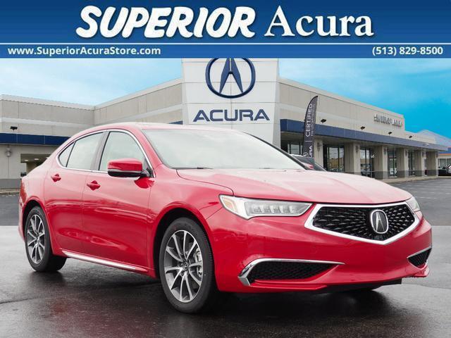 Acura TLX V6 Technology 2018