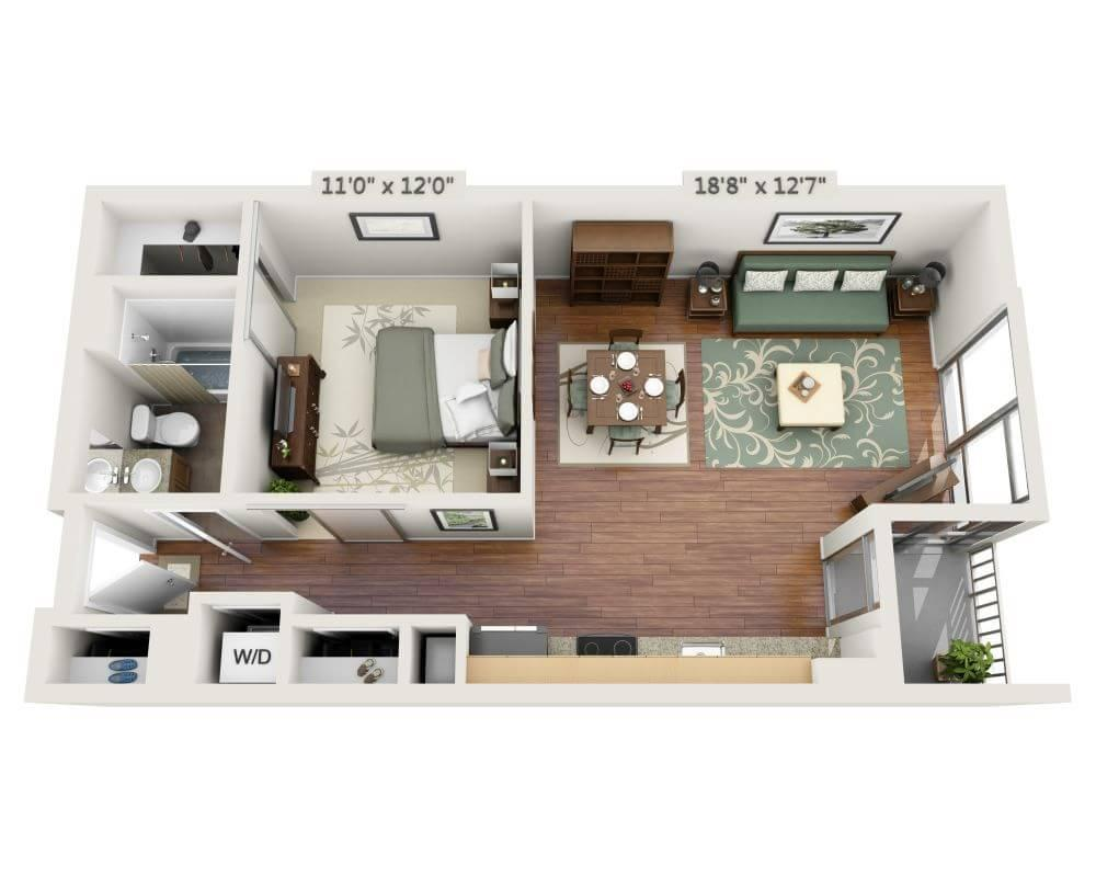 $2552 One bedroom Apartment for rent