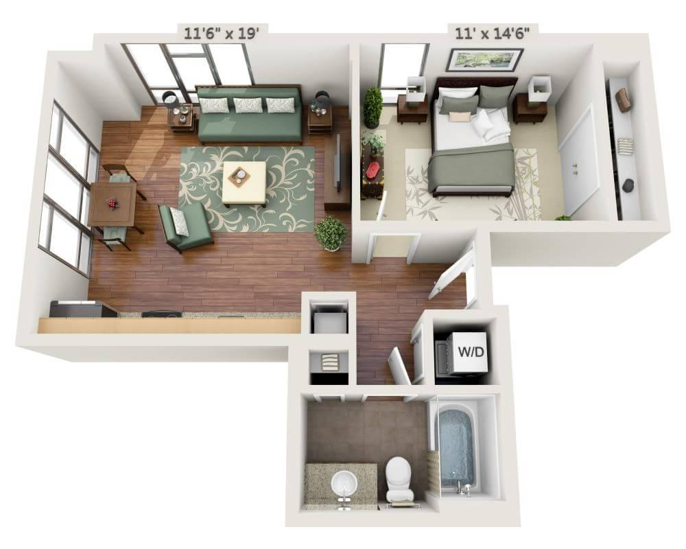 $2482 One bedroom Apartment for rent