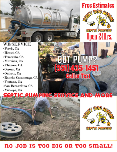 Honey Doo Wagon Septic Pumping Service - Open 24 Hrs. - Affordable