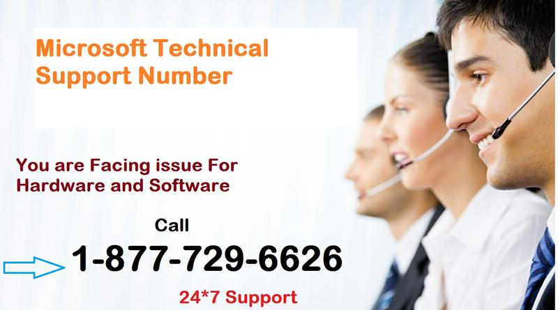 Call@ 1-877-729-6626 (Toll Free) Microsoft Technical Support  Number