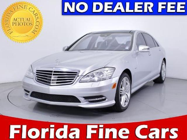 Mercedes-Benz S-Class 4dr Sdn S550 RWD 2012