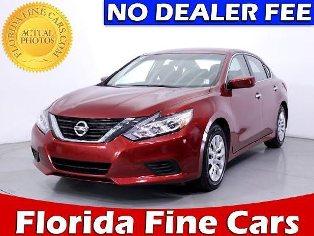 Nissan Altima 4dr Sdn I4 2.5 S 2016