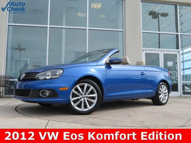 Volkswagen Eos Komfort Edition 2012