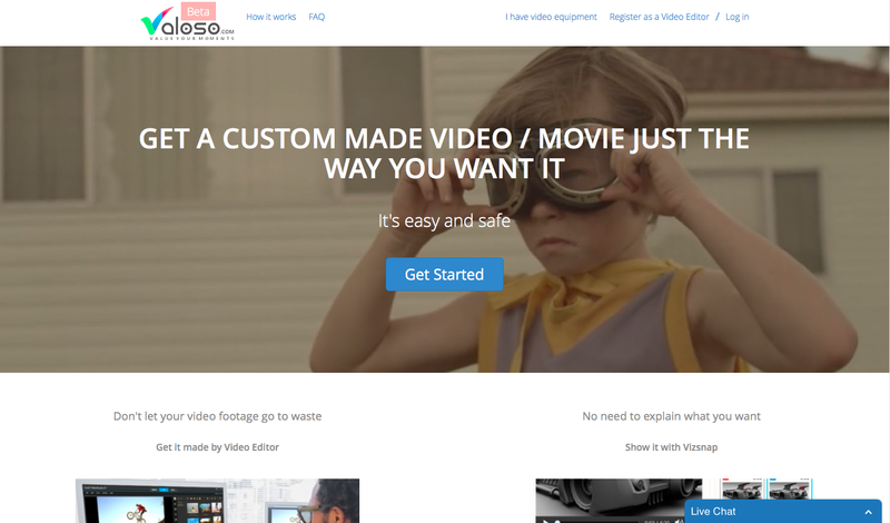 Valoso Video Editing and Videographer Freelance Services & Jobs