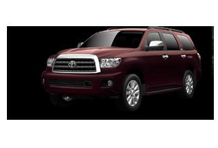 Toyota Sequoia Platinum 2017