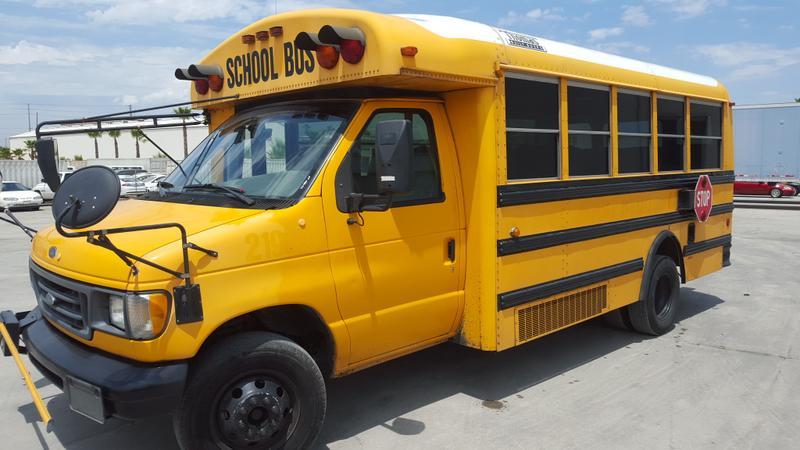 2000 FORD E450 SCHOOL BUS