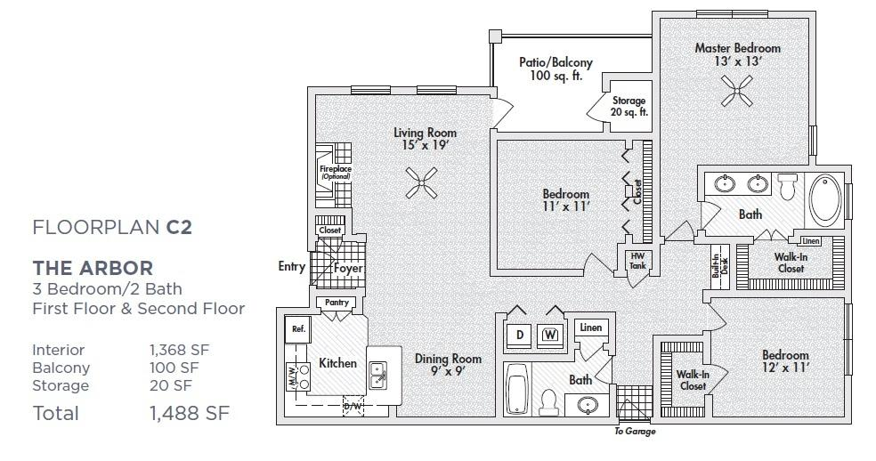 $2150 Three bedroom Apartment for rent
