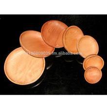 Cheapest Mango Wood Wooden Dinnerware Set Dinner Disigner Plates