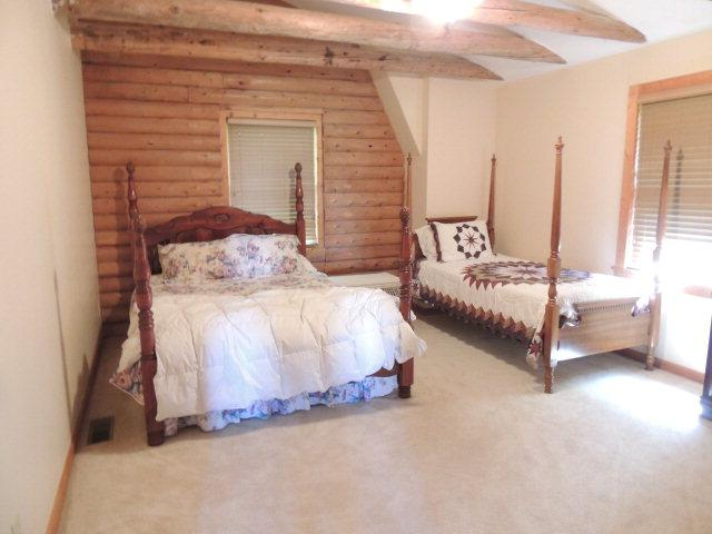 4 Bed 3 Bath Log Home on 17+ Acres