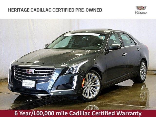 Cadillac CTS Sedan 3.6L Premium 2017