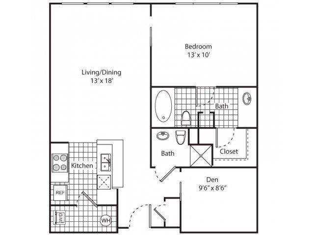 $1353 Two bedroom Apartment for rent