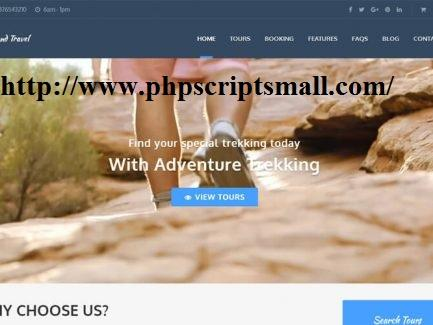 Travel Booking Software (phpscriptsmall)