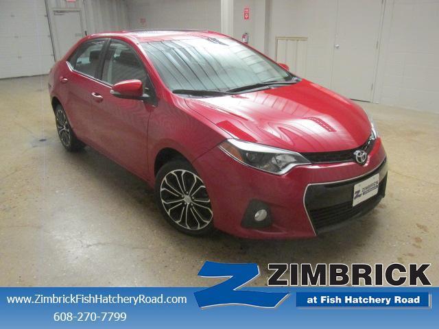 Toyota Corolla 4dr Sdn CVT S Premium 2014