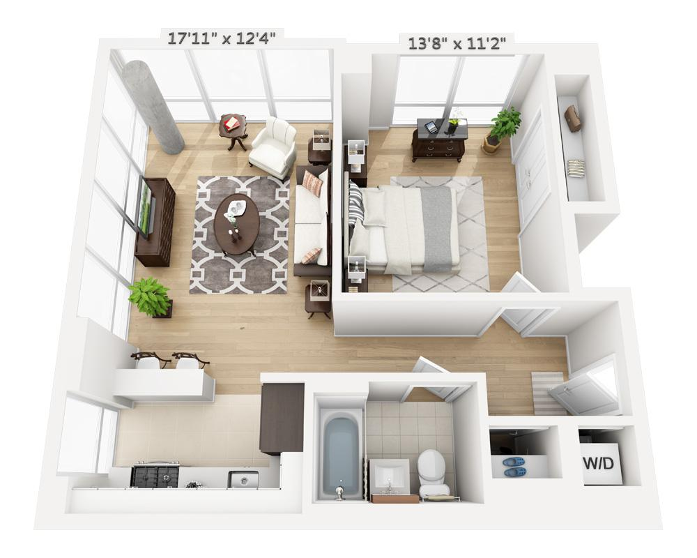 $3660 One bedroom Apartment for rent