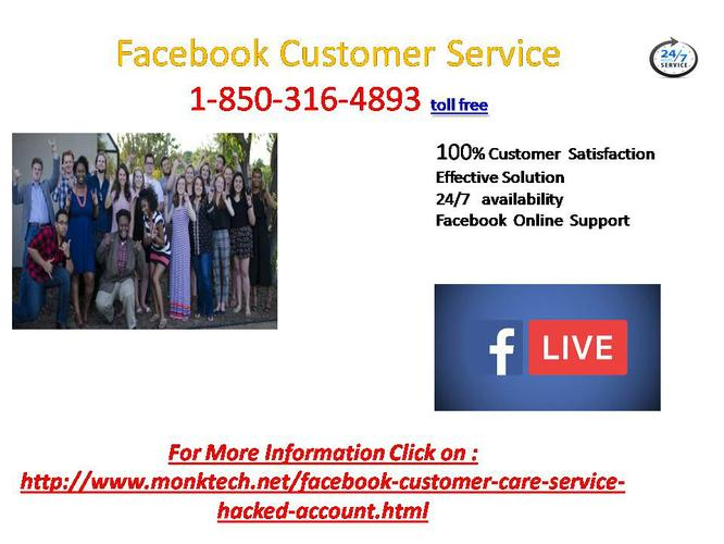 Are you searching for the solid Facebook Customer Service Number? 1-850-316-4893