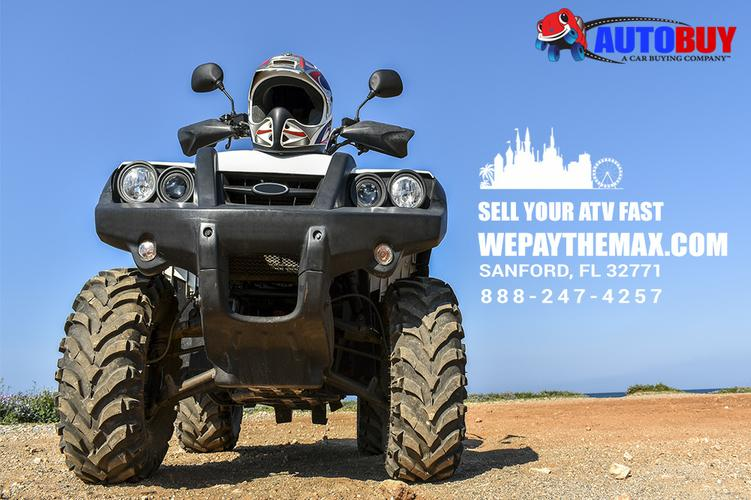 We Buy Your Recently Bought ATV - Autobuy | wepaythemax.com