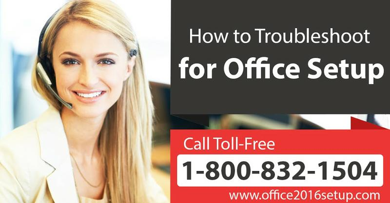Support for Install Office Setup TollFree 1-800-832-1504