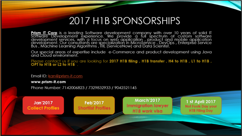 H1B sponsorship 2017