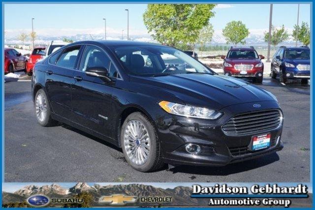 Ford Fusion Titanium Hybrid 2014