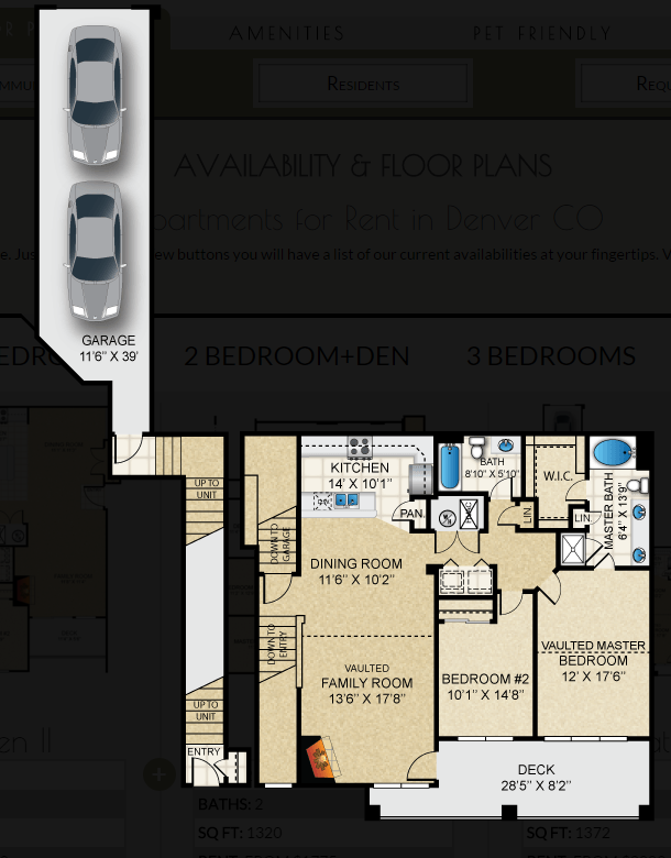 $1913 Two bedroom Apartment for rent
