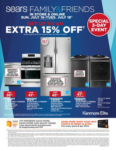 Sears Family & Friends Event 07/16/2017