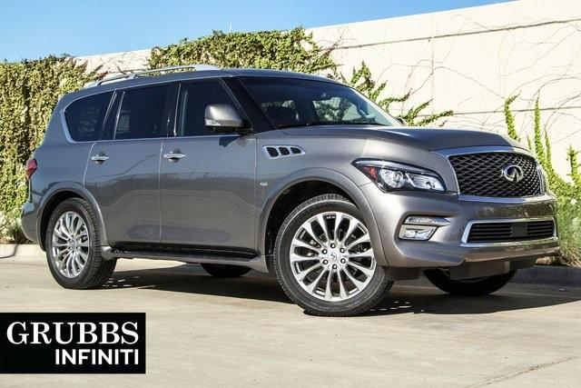 INFINITI QX80 Drivers Assistance Theater Package 2015