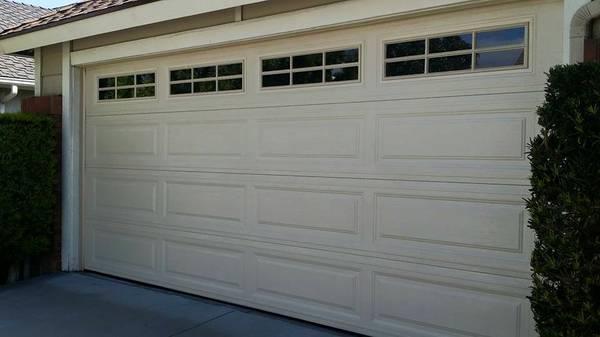 Garage Door Installed