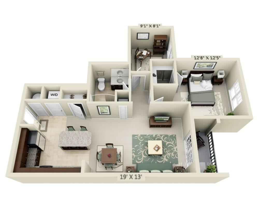 $1986 One bedroom Apartment for rent