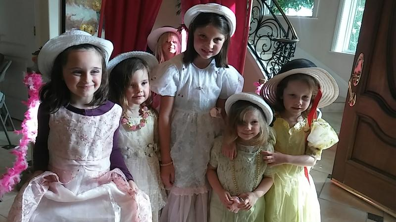 Glamour parties for girls ages 4 to 16