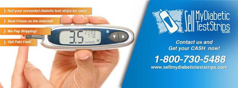 CASH PAID for your diabetic test strips get up to $35 box