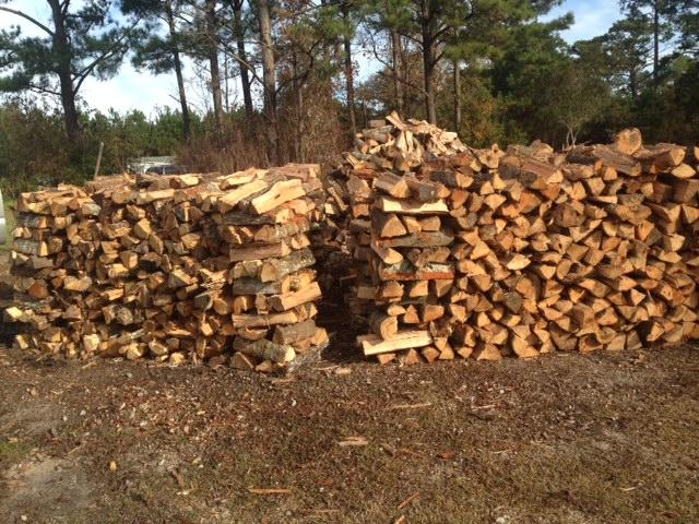 FIREWOOD-ALREADY SPLIT-FREE DELIVERY - $110