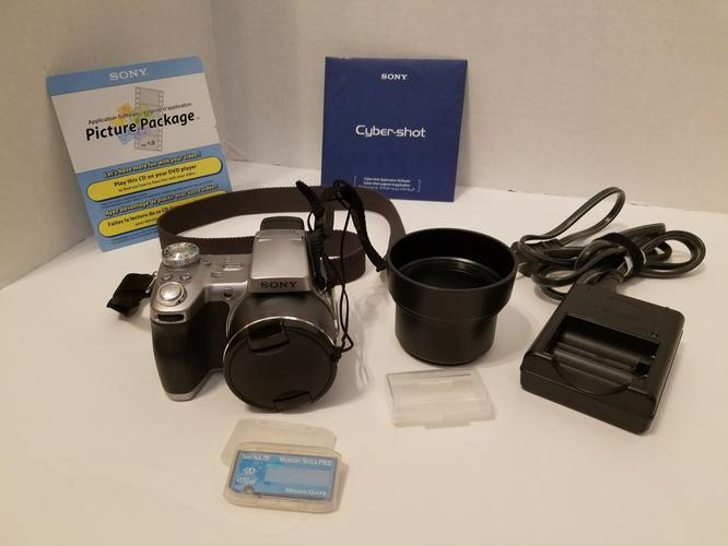 Sony DSC-H1 Cyber-shot Camera with 12x