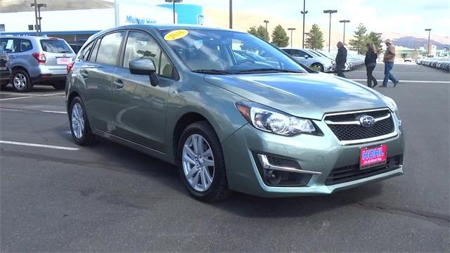 Subaru Impreza Wagon 2.0i Premium 2016
