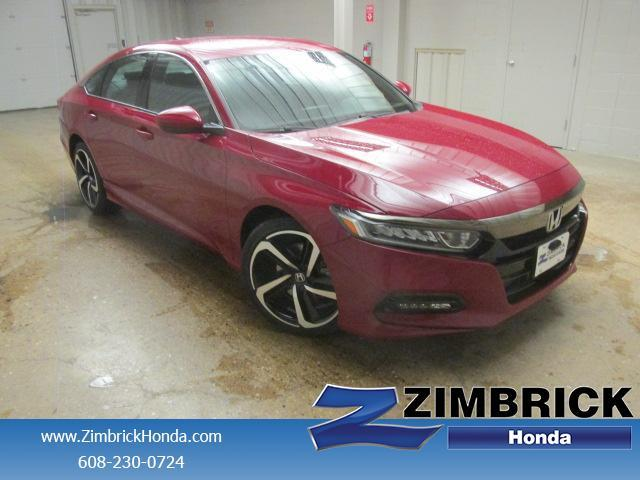 Honda Accord Sedan Sport CVT 2018