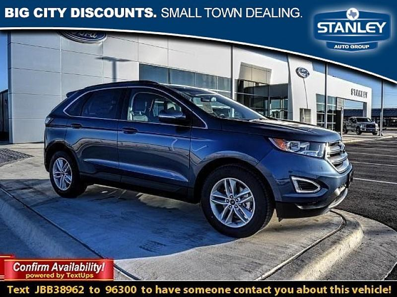 Ford Edge 4d SUV FWD SEL V6 2018